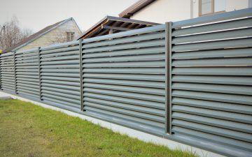 Skardos žaliuzių tvora